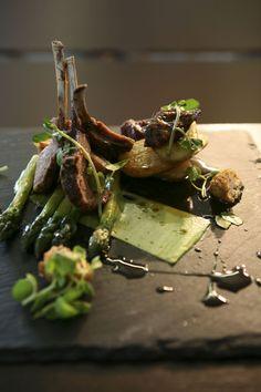 Calum Edges recipe for black faced Suffolk lamb - looks amazing