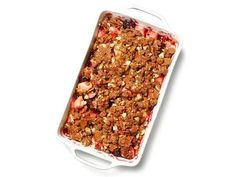 Apple-Berry Brown Betty from Food Network Magazine #Fruit #Seasonal #MyPlate