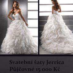 Svatební šaty Jerrica. #svatebnisaty #svatebnisalon #svatebnimoda #svatby #svatba #nevesta #nevesty #MaggieSottero #saty