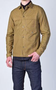 Livid Jeans Kevin Field Jacket Waxed Olive