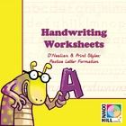 Amazing selection of templates for pre-kindergarten to third grade. Students will practice either at school or home manuscript A to Z. They will le...