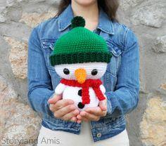 Storyland Amis, Вязание крючком Roly the Snowman amigurumi, Рождество в июле project2