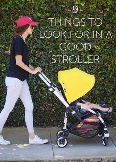 9 Things to Look for in a Good Stroller