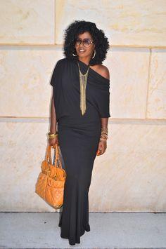 Black Off Shoulder Maxi Dress Diva Fashion, Fashion Outfits, Womens Fashion, Moda Afro, Off Shoulder Dresses, Style Pantry, Jeans Boyfriend, Black Off Shoulder, Glamour