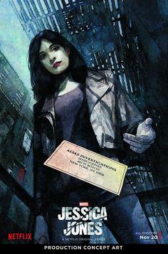 Jessica Jones s'offre un poster signé Alex Maleev | COMICSBLOG.fr