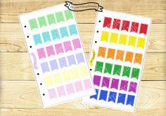 Sticker bandierine   #stickers #plannerstickers #planner