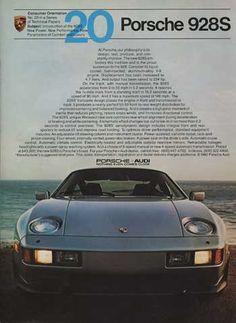 Porsche 928S ad