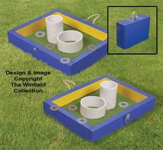 Washer Toss Game Plans