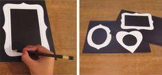Casa de Colorir: Tecido Imantado. Você sabe fazer? (Como fazer porta-retratos de imã)