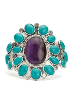 Turquoise Navajo Cuff at Lucky