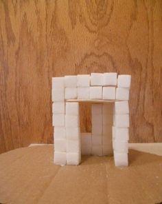 Activities: Sugar Cube House,  2nd grade math