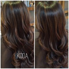 """KODA SALON on Instagram: """"Gorgeous and rich caramel highlights! Our client is all ready for fall! #kodasalon"""""""