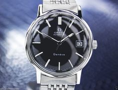 Pick Of The Day, RARE SWISS MADE OMEGA GENEVE AUTOMATIC WATCH - http://menswomenswatches.com/pick-of-the-day-rare-swiss-made-omega-geneve-automatic-watch/ COMMENT.