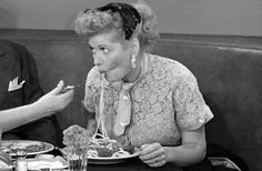 This fellow Keaton seems to be my whole life (I Love Lucy, s.4 ep.18 (1955) The Cook (1918))