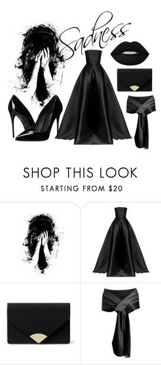 """""""Sadness"""" by chalotteleah on Polyvore featuring WALL, Alex Perry, Dolce&Gabbana and MICHAEL Michael Kors"""