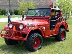 #Jeep CJ-5 Brush Truck: Ex-Henrico County, VA
