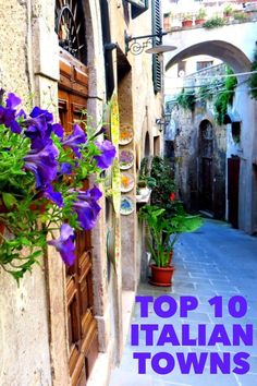 10 towns in Italy you must see to believe. The best and most beautiful of Tuscany and Umbria's hilltop towns.