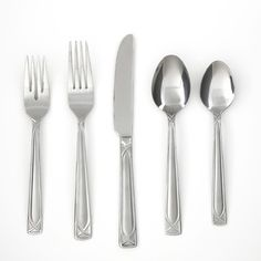 You'll love the Crossroad Sand 45 Piece Flatware Set at Wayfair - Great Deals on all Kitchen & Dining  products with Free Shipping on most stuff, even the big stuff.