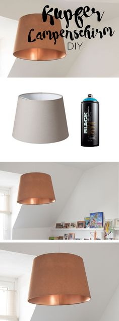 Mit dem DIY Kupfer Lampenschirm wirkt das Zimmer zwar vollständiger aber fertig bin ich noch lange nicht ...