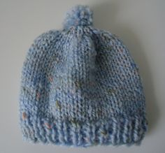 Newborn Knit Hat for Hospitals - The Make Your Own Zone Printable Recipes