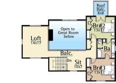 Dynamic Open Floor Plan - 18717CK   Architectural Designs - House Plans