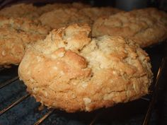 Desserts With Biscuits, Cookie Desserts, Cookie Recipes, Dessert Recipes, Oatmeal Muffins, Oatmeal Cookies, Biscuit Cookies, Yummy Cookies, Ricardo Recipe