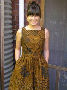 Like the Votron part best. Batik Vogue 8723 – Sewing Projects   BurdaStyle.com