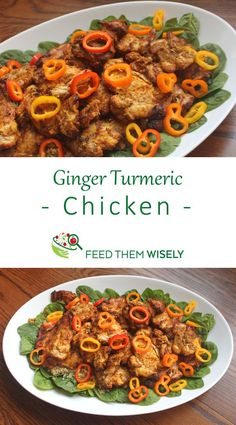 Ginger Turmeric Chicken (Dairy-Free, Gluten-Free & Compliant) Ginger Turmeric Chicken is one of my favorites for summer cookouts. Super flavorful and best when prepared in advance, it scales well to feed a crowd. Best Chicken Recipes, Turkey Recipes, Dinner Recipes, Turmeric Recipes Chicken, Recipes With Turmeric, Best Nutrition Food, Health And Nutrition, Nutrition Articles, Nutrition Guide