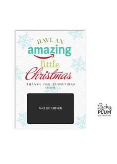 Thank you gift card ideas – gifts to help you express appreciation for the things people do, big and small. Amazon Christmas Gifts, Teacher Christmas Gifts, Teacher Gifts, Christmas Projects, Christmas Gift Card Holders, Christmas Cards, Christmas Things, Christmas Decor, Christmas Ideas