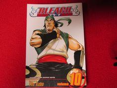 Bleach #10 English Language Anime Manga Ichigo naruto Kurosaki  comic book
