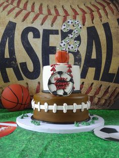 Sports-Themed Kids Birthday Party - Project Nursery