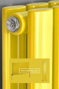 Add a pop of colour to your interior with our bright statement Milano Aruba yellow designer radiators. Radiator Shop, Horizontal Radiators, Color Pop, Colour, Designer Radiator, Contemporary Design, Bright, Yellow, Interior