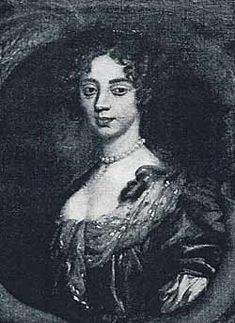 Lucy Walter -- mistress of King Charles II of England, mother of his first child, James, Duke of Monmouth