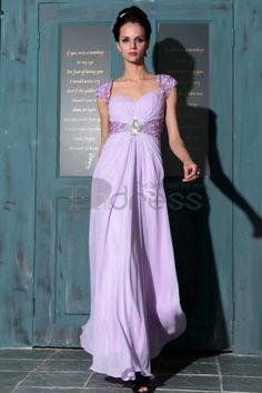 Abiti in Magazzino-A-Line al largo della spalla viola abiti Quinceanera lunghi nuova moda