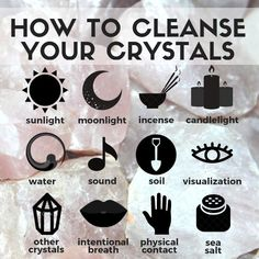 Do you know that crystals tend to absorb all the energies around and that you need to cleanse them once in a while? Here are some tips of how you can cleanse and charge your crystals: Use water. You can add sage lavender or sea salt to the water to enhance the cleansing effect. Use moonlight or sunlight. They will fill your crystals with positive and clear energy. Burying the stones into the earth also works great when it comes to energizing and grounding. Use essential oils or incense like