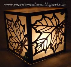 Paper Compulsions: Paper Cutz Challenge Button Up Router Projects, Fun Projects, Paper Art, Paper Crafts, Autumn Crafts, Scroll Saw Patterns, Silhouette Cameo Projects, Silhouette Machine, Paper Lanterns