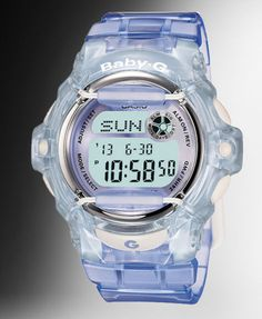 Baby G - I remember these watches being popular amongst the girls!