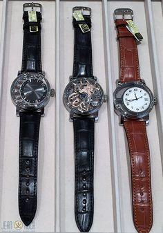 Heute eingetroffen und gerade ausgepackt. Die ersten drei Modelle von unserem neuen Uhrenpartner Kudoke - Handmade in Germany.
