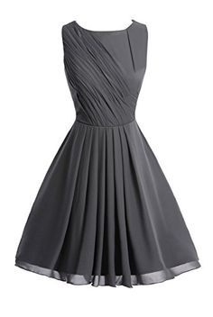 Dasior Womens Short Chiffon Bridesmaid Prom Homecoming Party Dress US6 Steel Grey Dasior http://www.amazon.com/dp/B01AUIYSMM/ref=cm_sw_r_pi_dp_UP7Nwb1RFRWKC