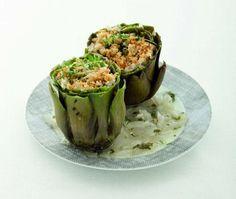 Carciofi ripieni alla maniera provenzale - Tutte le ricette dalla A alla Z - Cucina Naturale - Ricette, Menu, Diete