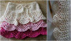 Dress for Little Girl [Free Crochet Pattern]