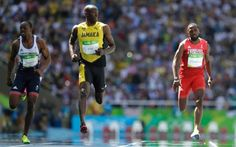 Usain Bolt 100m heat