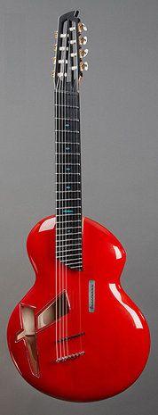 """Alquier """"Gnossinne"""" Guitar"""