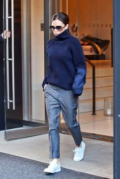 Why Victoria Beckham Is Giving Up Heels for Sneakers via @WhoWhatWearUK