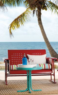Bright, Retro Beach Furniture.