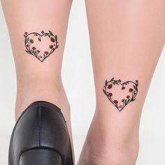 Corações nos calcanhares da Luciana para ela levar amor por onde for ☺️❤️ @lucyssales valeu pela visita  #tatuagemfeminina #tatuagem #heart #tattooart