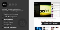 Play - Buddypress Theme for Community Magazines