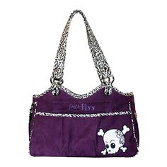 Mirage Pet Products Bone Ami Airline Pet Carrier Purple Skully, One Size * To view further for this item, visit the image link. (This is an affiliate link and I receive a commission for the sales) #MyCat