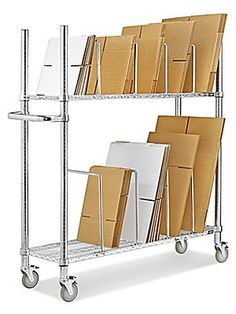 Carton Stands, Two Tier Carton Stand in Stock - ULINE ...