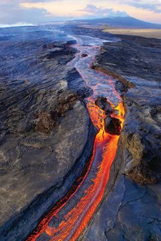 Kilauea Volcano, Hawaii - United States.